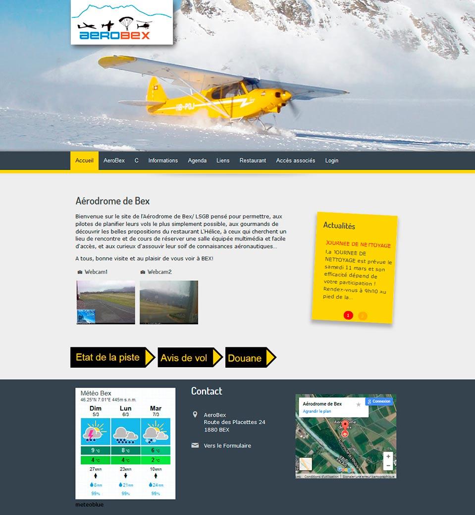 Aerobex - Aérodrome de Bex